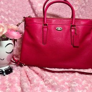Coach Versatile Bag Hot Pink!